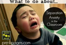 Separation anxiety in preschool