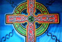 """Celtic Pride"" / Design and and Implementation of decors for Celtic Pride, Worldwide, by Vanya Vasileva. vanyart.com/celtic_pride.html"