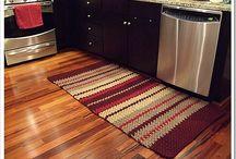 Crochet blankets / rugs