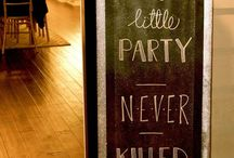 21st party ideas //sisters 18th