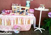 Mesas dulces/Candy bar