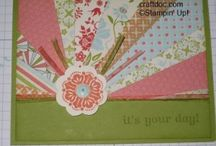 Tutorials / Here are some fun papercrafting ideas in tutorial form on my blog - craftdoc.com.  Enjoy!  And to purchase the Stampin' Up! products to make these projects visit www.kwstamps.stampinup.net  / by Stampin' Up! Demonstrator