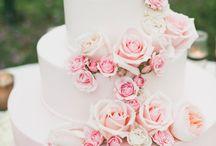 Wedding Cake / Pink wedding cake