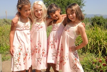 Summer In Pink / One of the BEST ORGANIC Spring/Summer Dresses for Girls this Season - get these unique, limited edition pieces whilst it's still available in XS (low in stock), M, L at http://dhana.goodsie.com/ $49 each