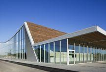 Sport center building