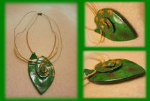 Polymer clay jewellery / Hand made polymer clay jewellery.