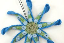 Tentacle Ornaments by Knot By Gran'ma
