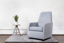 Modern nursery chairs