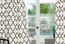 Geometric Poly Custom Curtains by DrapeStyle / These incredible custom made drapery in Geometric Poly fabrics are durable and hand made to impeccable standards right here in California.  Order samples at www.DrapeStyle.com or call us at 800-760-8257 / by DrapeStyle