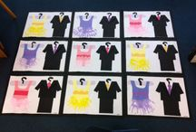Junior School Art / This is work that I have done with New entrant and year one students.