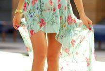 Nyári ruhák/Summer dresses