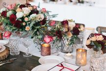 Marsala Pantone 2015 || Wedding