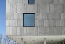 Modern facade materials