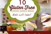 GF School Lunch Ideas