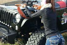 Jeep & 4x4  girls