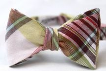 gestrikt !- bow ties! / by Silvia Rosier