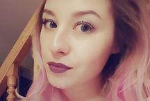 selfie / #pinkhair #blond
