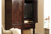 Entertainment center / by Stacey Holland