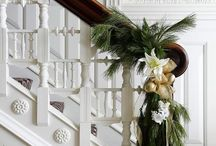 Holiday Railing Decor