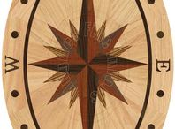 Oval Wood Floor Medallions / Check out these beautiful oval medallions for your hardwood floor! These come in various sizes. / by The Hardwood Floor Medallion Store