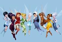 La fée clochette et ses amis