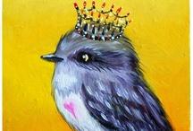 Bird, like me, birds likes me, I ♥ the birds!