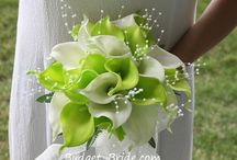 Бело зеленая свадьба