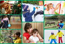 Winter Fun and Activities / Fun things to do in the winter with kids.
