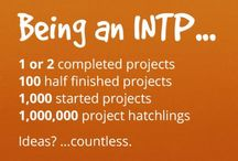 INTP / About people with this personality type. Like me ^^