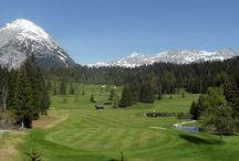 Golf courses Austria, golfbaan Oostenrijk / Golf courses Austria, golfbaan Oostenrijk