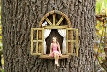 Fairy Gardens and Fairy Garden Ideas / I love fairy gardens! My daughter and I made some last year, so now I'm all about them. This board has fairy garden items, miniatures, and fairy garden ideas.