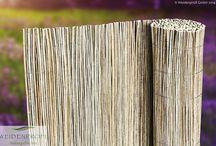 Rollzäune, Matten & Staketenaun / Matten aus naturbelassenen Naturgeflechten
