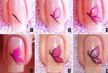 diseños de uñas p a p