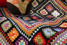 solo crochet / tejidos con una sola aguja