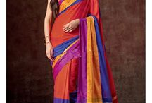 Look #Like #Diva In This #Colorful #Saree.... Only @ styloshopping.com