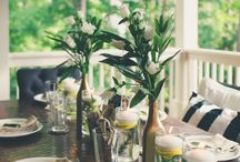Outdoor Wedding and Event Designs / Do you envision your celebration being one with nature? From the sandy beaches to a rustic forest design here are ideas for your outdoor weddings and events.