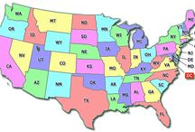 History of States / I am working on the history of states and interesting facts about each of the 50 United States