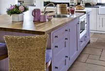 Pink/purple kitchens