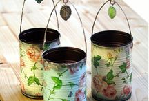 Crafts / Tins decorated