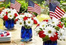 American table settings