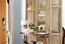 Folding Screens / Fabulous folding screens to add interest to any room and a place to conceal.