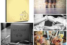 Wedding: Bike  / Canvas Kudos 'Bike' is perfect #guestbook option for any  #wedding. #vintagewedding #funwedding #casualwedding #formal
