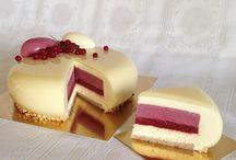 Муссовые торты.