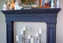 Kandalló profil fából