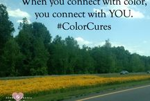 Color Cures / Similar to Holistic Colors, certain colors you choose can promote better health. Find out what those colors are with #ColorCures.