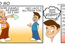 Because I Said So Comic Strip / Dad & Son share their adventures with this hilariously funny comic strip - called Because I Said So!