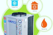 Heat pumps with special thecnology. www.sergun.com / Click and learn the details. www.sergun.com