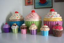 Ceramic Cupcake
