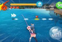 Fishing minigame UI