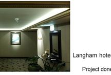 Langham Hotel Auckland Lounge / Project Done by Team Cabling NZ  LED Warehouse LED Strips Used